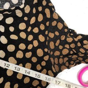 Samantha Sung Tops - Samantha Sung Sz 8 polka dot wool silk blouse